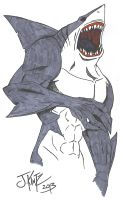 Shark Man by Rinkusu001