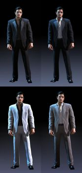 Vito Scaletta DLC Mad Man Outfits Skins For SA by Elpadrino1935