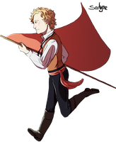 LesMisExtended Visual Petition - Enjolras by SarlyneART