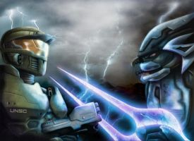 Halo Wars fan art by Geocross