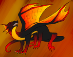 ::SS:: Dragon For Angelique by lizziecat1279