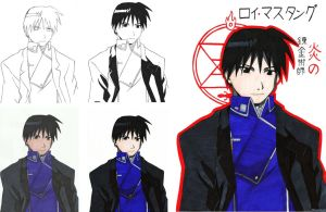 How I do - Roy Mustang by ChocoJavali