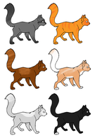 name your price feline adopt by Chibiteretsu