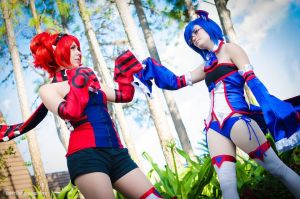 Land versus Sea by ChaosityCosplay