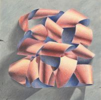 Colored Pencil Ribbon by Travinapple