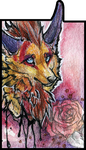 ATC .:Lonely Rose:. by WhiteSpiritWolf