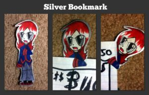 Silver Bookmark by Rawrshiram