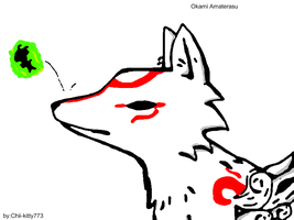 Amaterasu pic by 1Apple-Fox1