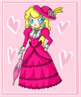 Victorian peach by ninpeachlover