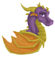 Spyro by Flurious