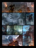 Daegon comic page commission by VargasNi