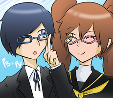 Persona 3-4: Love Crosses Over by BladeXD
