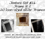 Texture Set 24 - Frame it 2 by solstice-fairy