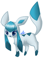 Glaceon by Kitzophrenic