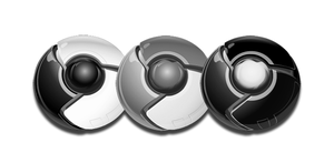 Google Chrome BW Dock Icon by yethzart