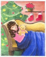 Waiting for Santa by JennieLuv