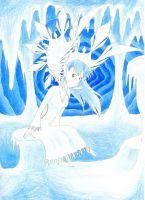 ice fairy by Phantom-Akiko
