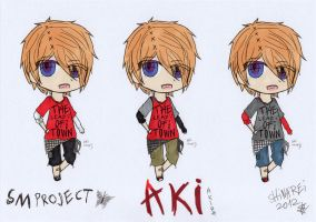 SMproject: Aki- alternate clothes colour sets by shinarei