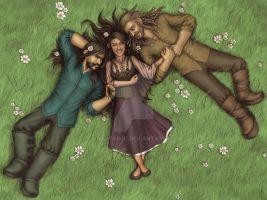 Happy Kili and Fili to Sasha by Anastina91