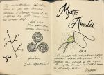 Gravity Falls Journal 2 Replica - Mystic Amulet by leoflynn