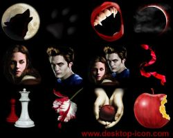Free Twilight Desktop Icons by Ikonod