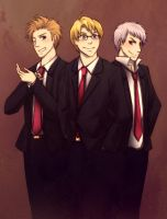 APH: Suit Up by cherlye