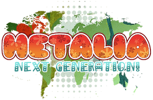 Hetalia NEXT Generation! Logo by BlueStorm-Studio