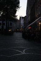 Bruges At Night 13 by Tasastock