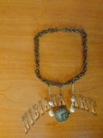 Steam Punk Time Necklace by AxelOfArt