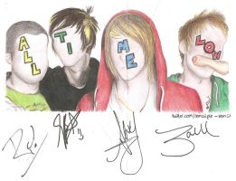 All Time Low -signed. xo. by Lemziipie