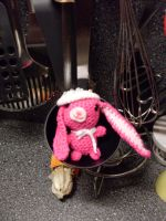 Amigurumi - Bunny with baret by Marlou-Chan