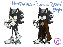SONIC BOOM - Mephiles Fan Design by RaeLogan