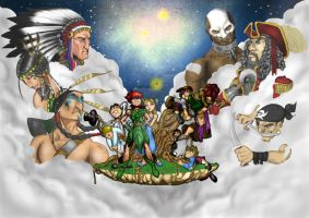 peter pan by rubioworld