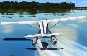 flight sim water landing by puddlz