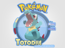 158#Totodile by Jefers0n