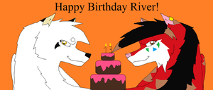 Happy Birthday River by SwifteVictor23