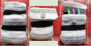 Crochet case by MinaThomas