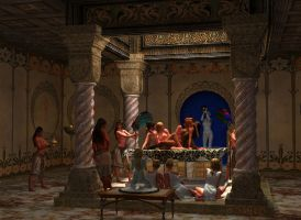 Tomb of Melyanna by ManFromAbora