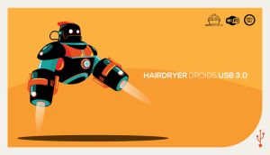 Hairdryer Droids USB 3.0 by funky23