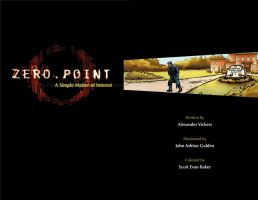 Zero Point: Title Page by Mortal-Mirror