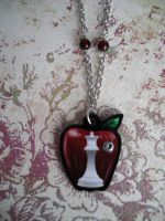 Twilight Silver Sparkle Necklace by AriesNamarie