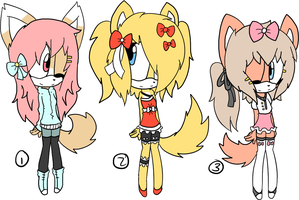 Sonic Adoptables :: S O L D by Nayuruu