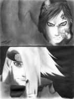Gaara VS Deidara by moonx123