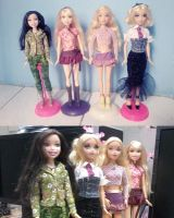 Nolee Delancey and Barbies by seawaterwitch