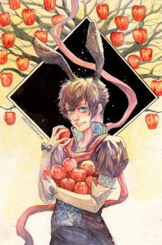 Request: Apple Tree by redKat120