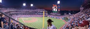 Phillies Game Pano by MyDigitalSin