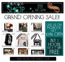 THE POTION SHOP: Grand Opening SALE! by SiSero
