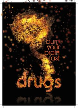 Drugs burn your brain! by Dannyawesome