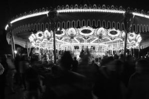 Round and Round the Merry-go-round by wantingtobreakfree