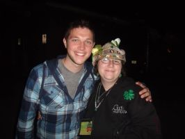 Me and Colm Keegan of Celtic Thunder by CTG22
